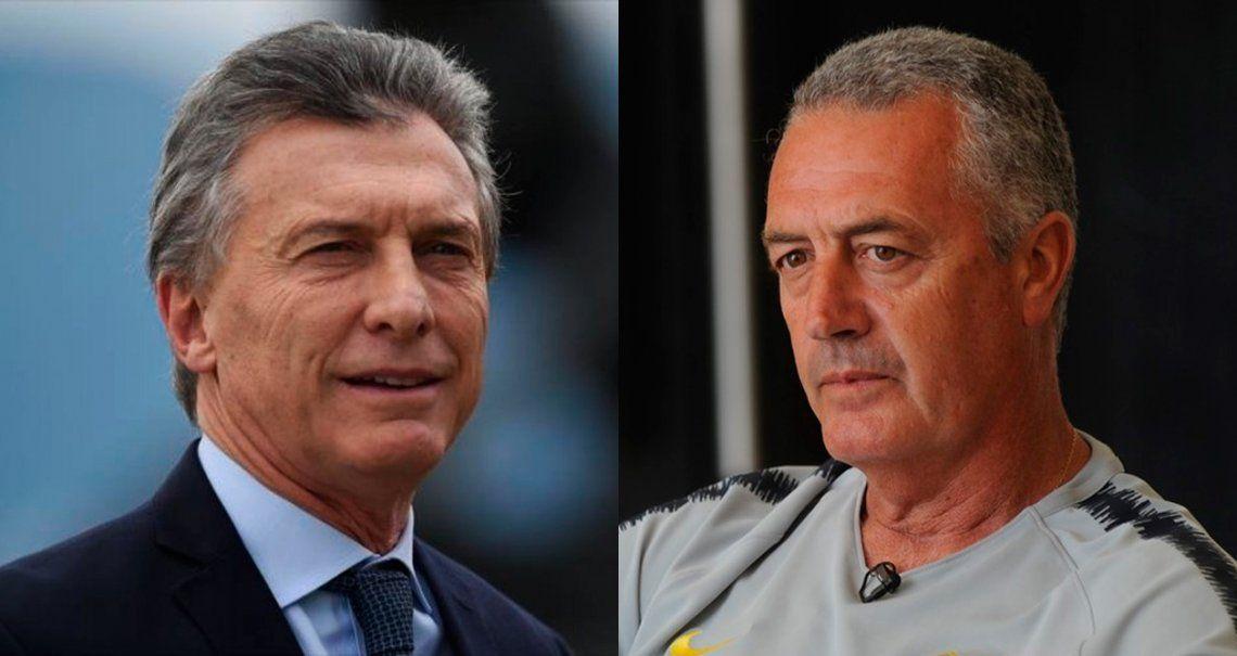 Macri llamó a Alfaro para invitarlo a la quinta de Olivos a charlar de fútbol