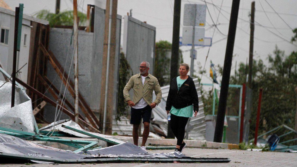 Estados Unidos: el paso del huracán Zeta dejó dos muertos y miles de personas sin luz