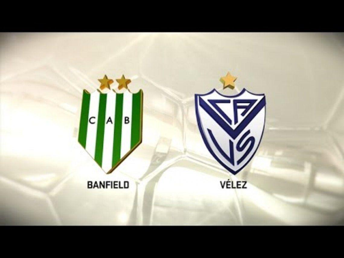 Vélez - Banfield por la clasificación de la Copa Sudamericana 2022