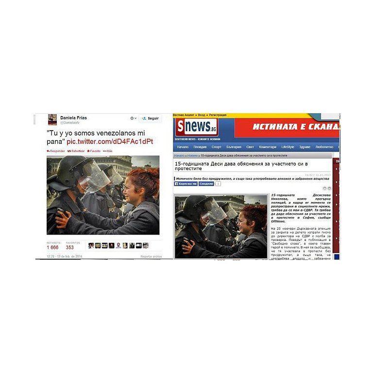 Venezuela: 10 fotos falsas que manipulan la información