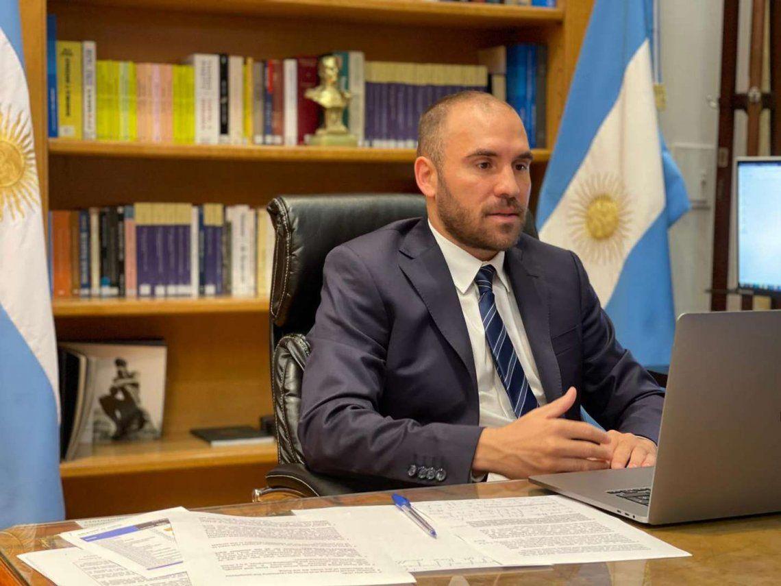 Martín Guzmán adhirió al pedido del G-24 para modificar los sobrecargos del FMI.