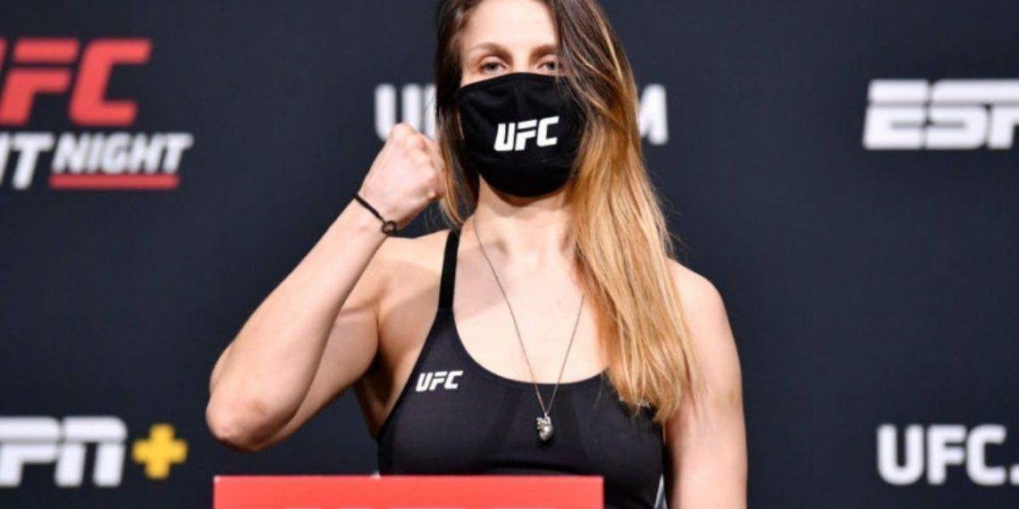 UFC: luchadora de Lituania