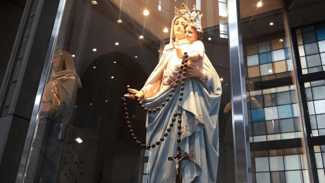 Día de la Virgen del Rosario de San Nicolás: volvieron las misas presenciales.