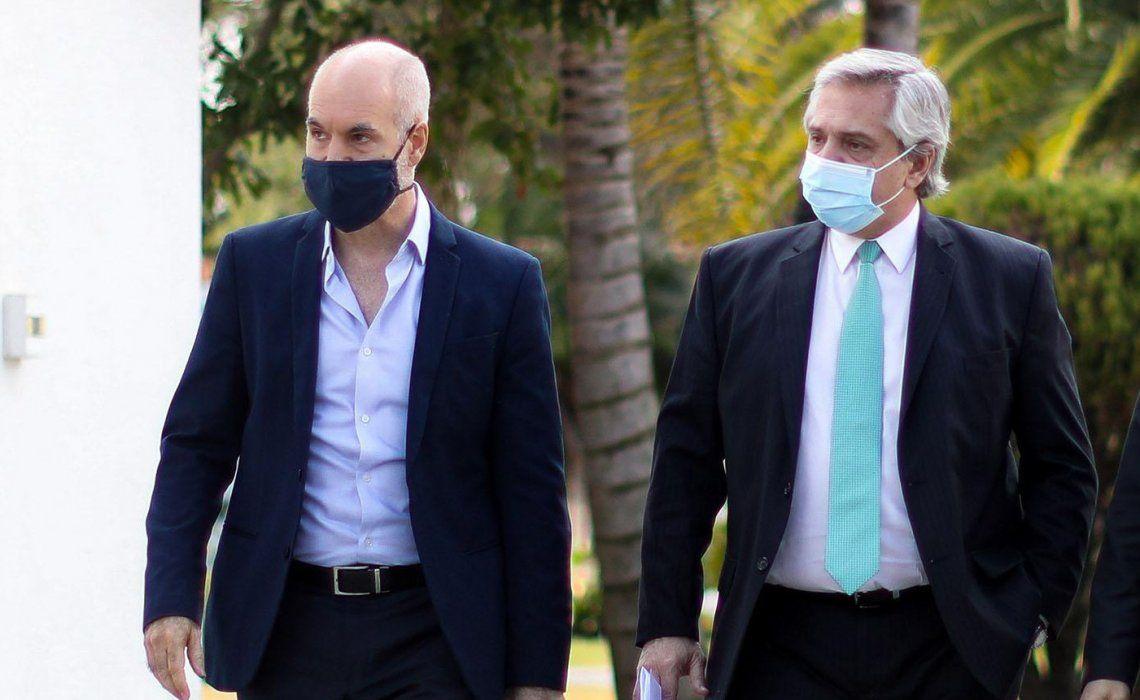 El Gobierno vuelve a convocar a Larreta por el financiamiento de la seguridad