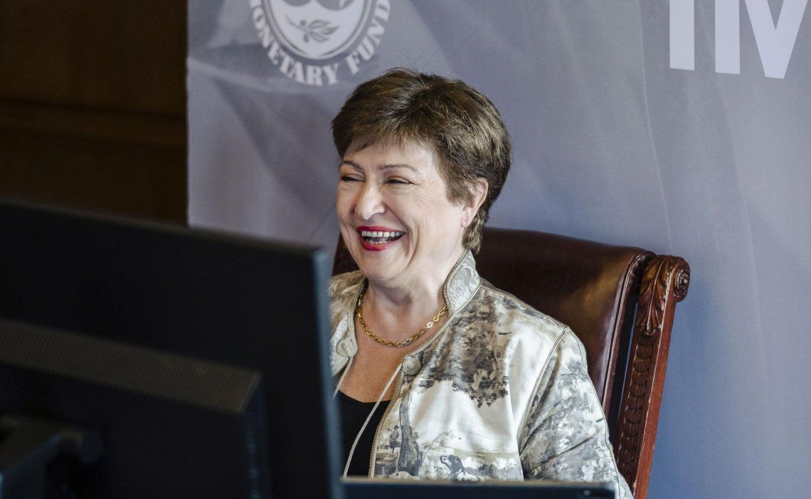 Georgieva sigue al frente del FMI, gracias a fuerte respaldo del directorio