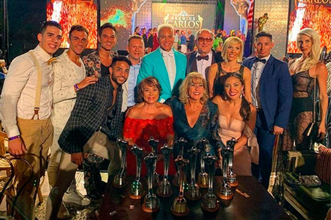 Todos los ganadores de los Premios Carlos