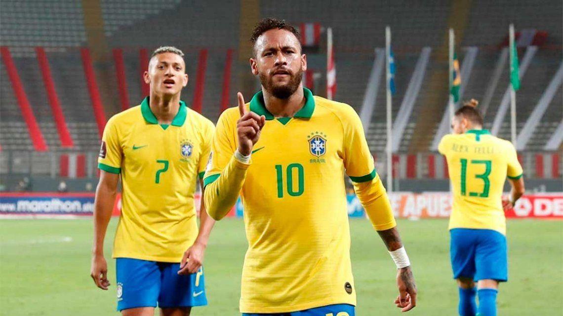 Los jugadores de Brasil decidieron disputar la Copa América