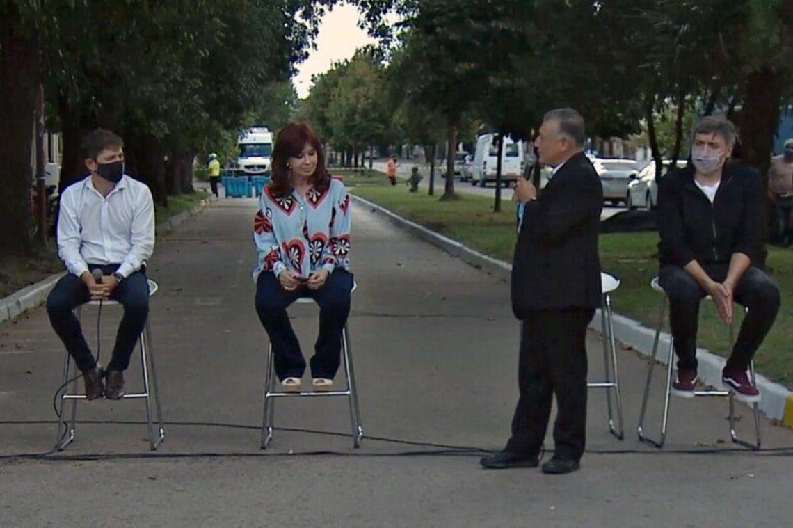 En el acto de Cristina Kirchner en Las Flores la locutora la llamó Presidenta de la Nación. Explotaron las redes.
