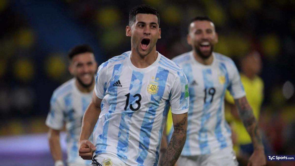 Cristian Romero tiene un gol con la selección y se ganó el puesto.