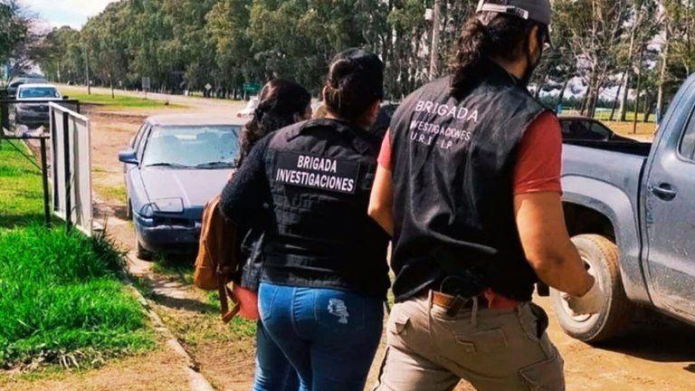 La mujer fue detenida en La Pampa.