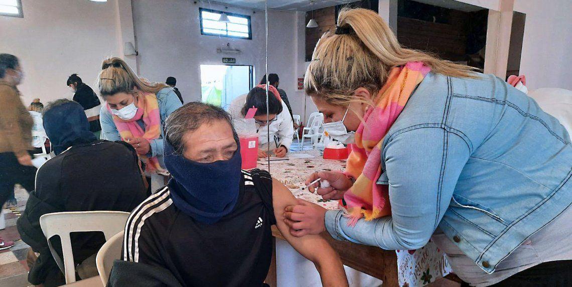 Coronavirus: avanza el plan de vacunación.