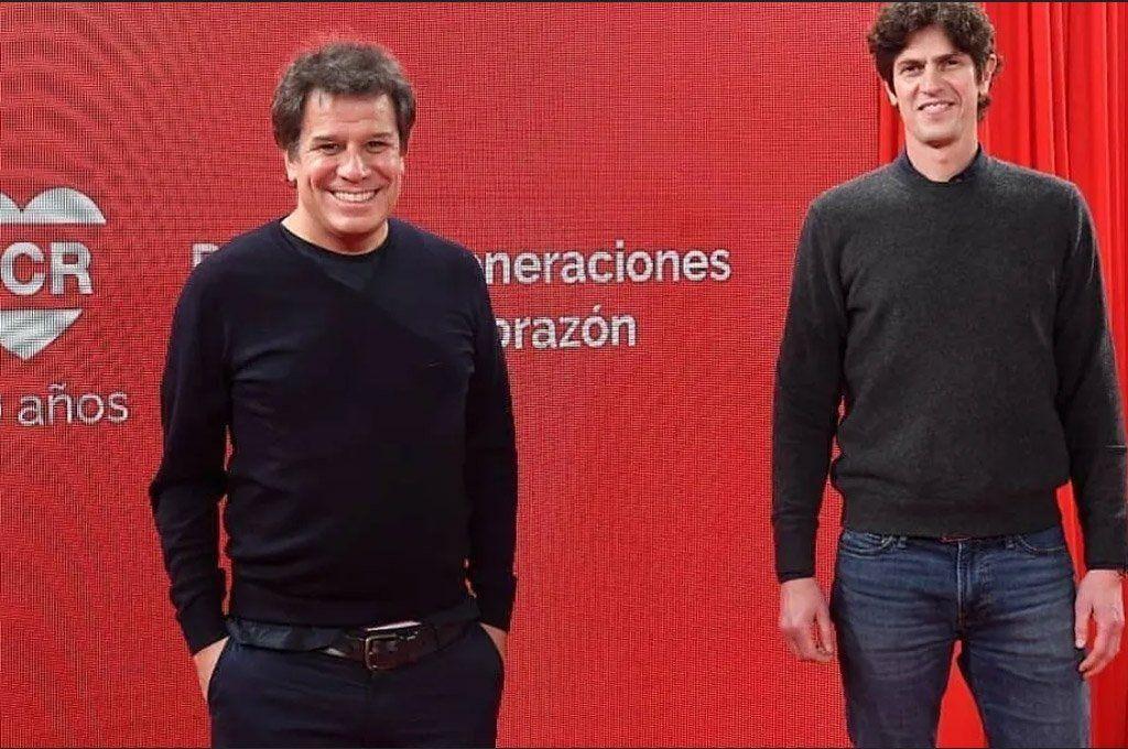 Manes se había reunido recientemente con Martín Losteau para ultimar detalles de su desembarco en la política dentro de la UCR.
