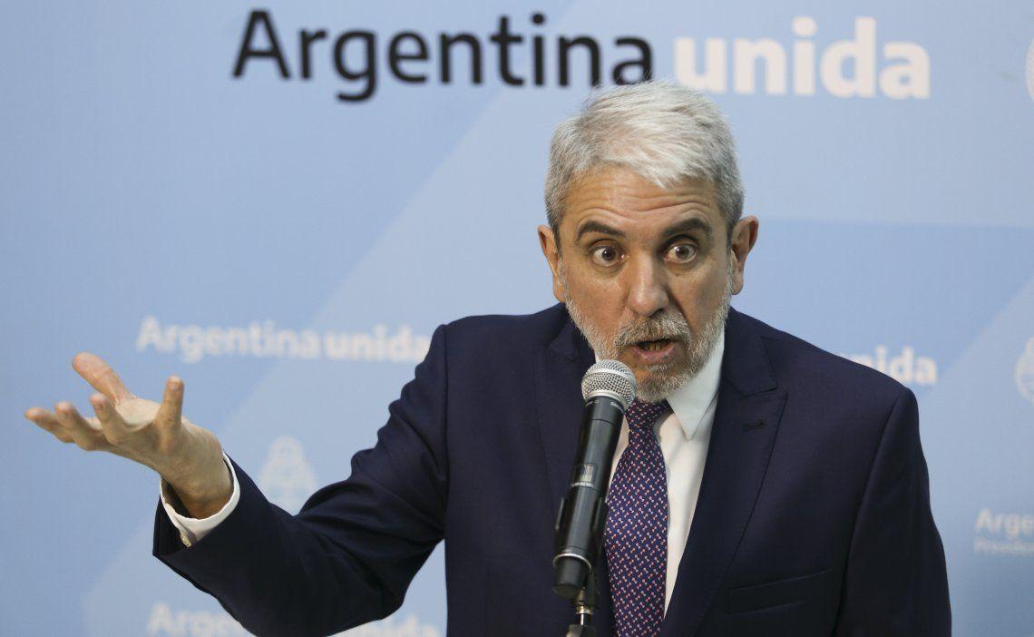 Crimen de Lucas Cancino: Aníbal Fernández pidió a los jueces que colaboren