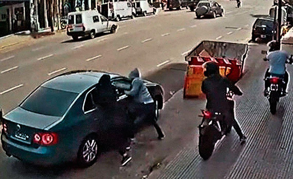 Los  motochorros cometen un asalto cada 21 minutos
