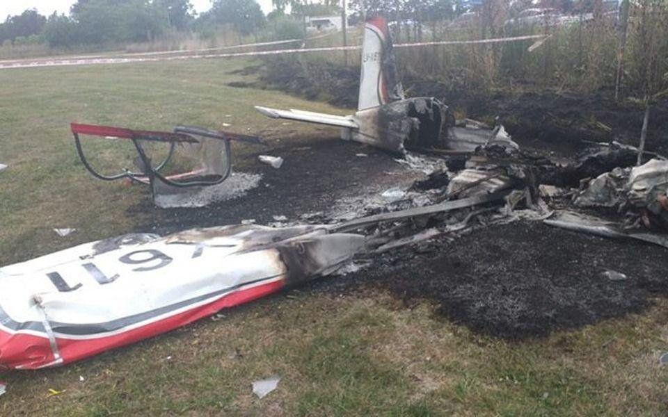 Cayó una avioneta en General Rodríguez.