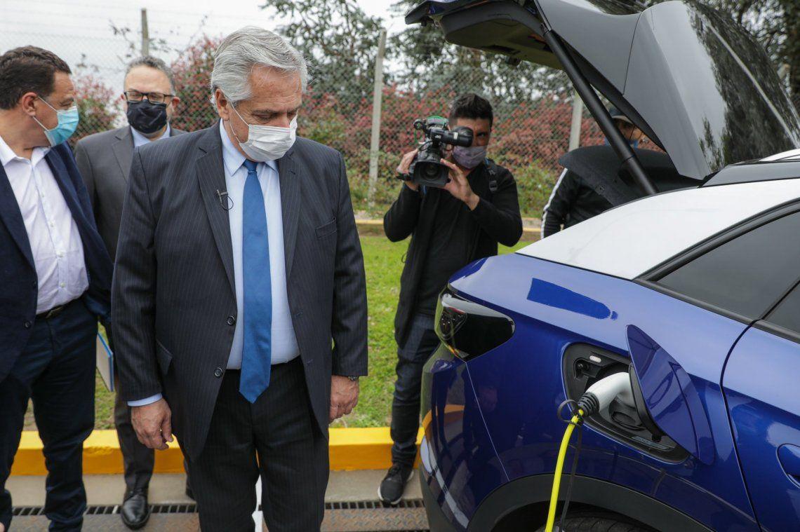 Fernández anunció el proyecto de ley de Movilidad Sustentable