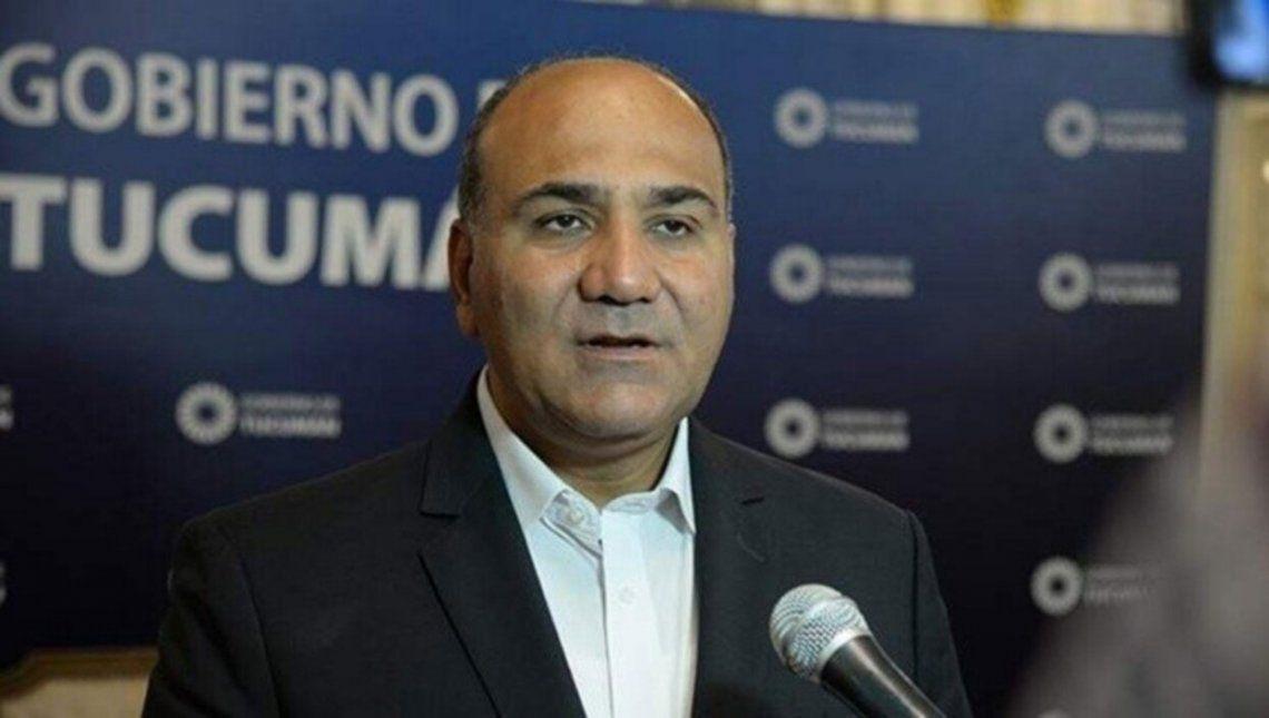 Juan Manzur es el nuevo Jefe de Gabinete