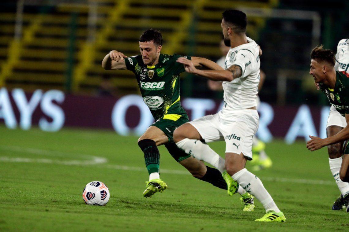 Defensa y Justicia no pudo con Palmeiras y deberá ganar en Brasil