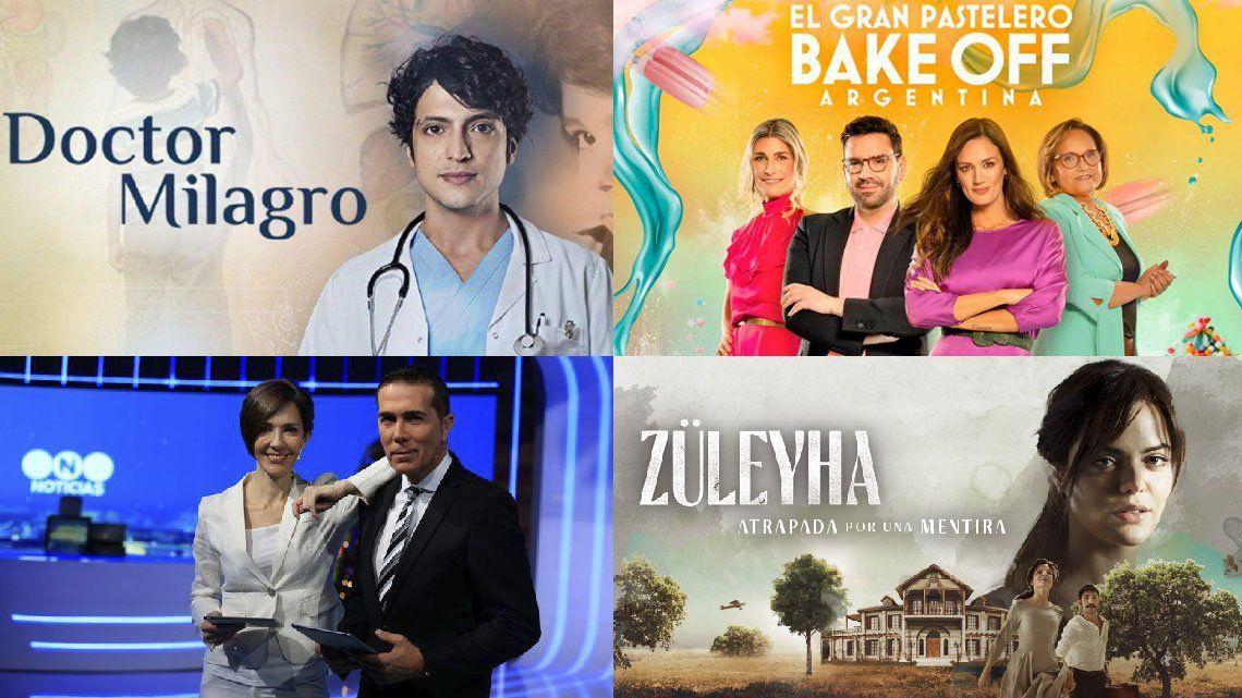 Rating: Telefe tuvo cuatro de los programas más vistos.