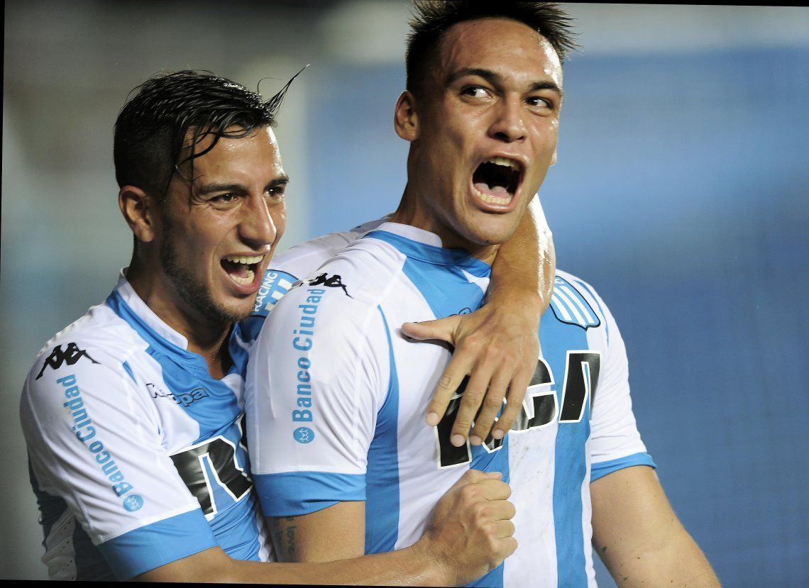 Racing busca retener a Lautaro Martínez para la Libertadores