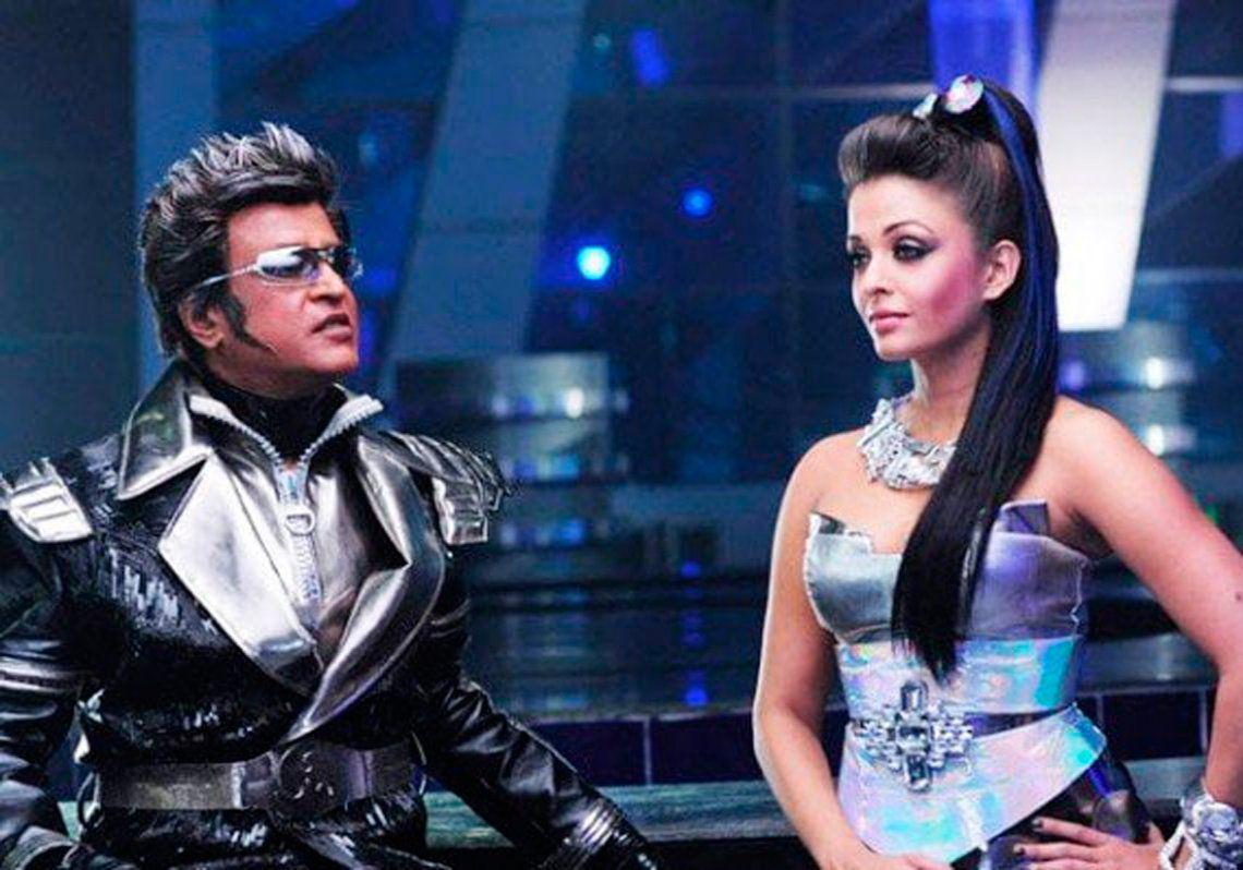 La película Robot fue un éxito de taquilla en la India