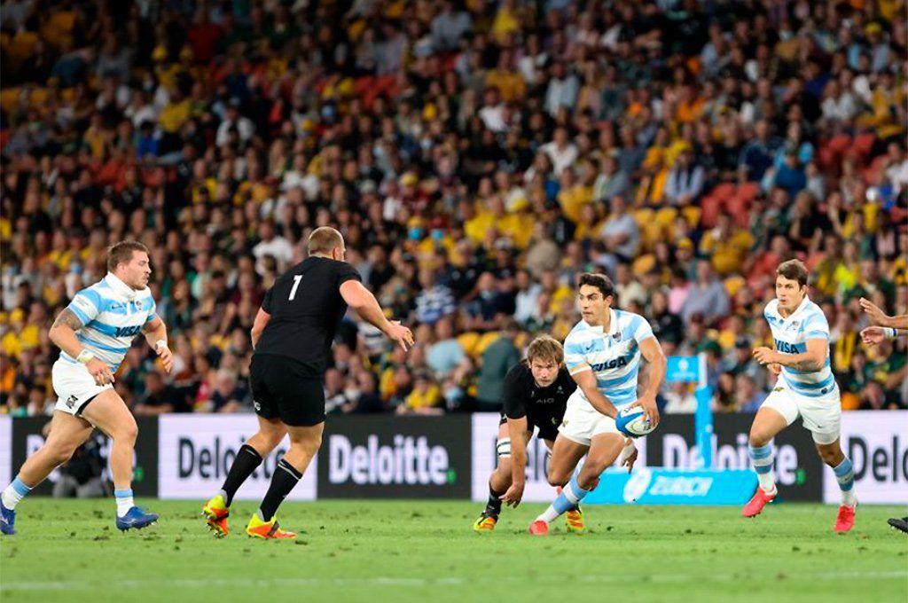 Los Pumas aún no ganaron en lo que va del año en el Rugby Championship.
