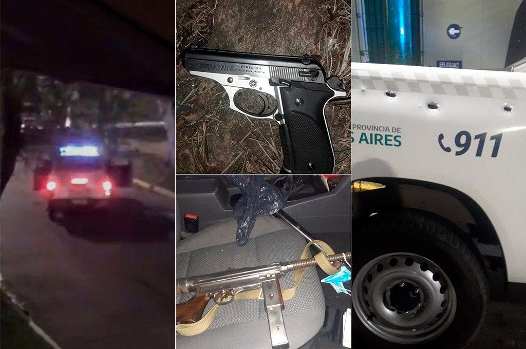 Banfield: persecución y más de 50 disparos en la madrugada