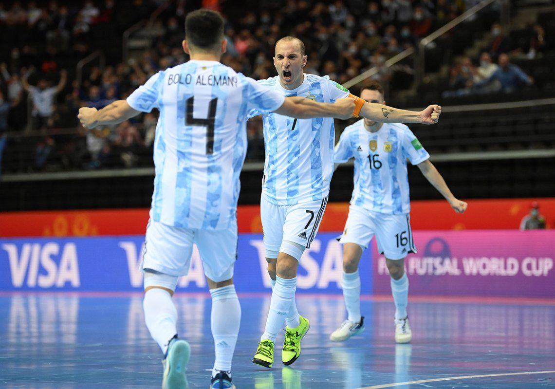 Argentina se enfrentará con Brasil en la primera semifinal el próximo miércoles 29 de septiembre.