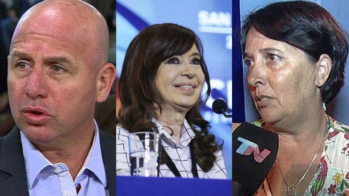 Paso 2019 | Maria Luján Rey y Waldo Wolff cruzaron a Cristina Kirchner en Twitter por sus criticas a María Eugenia Vidal