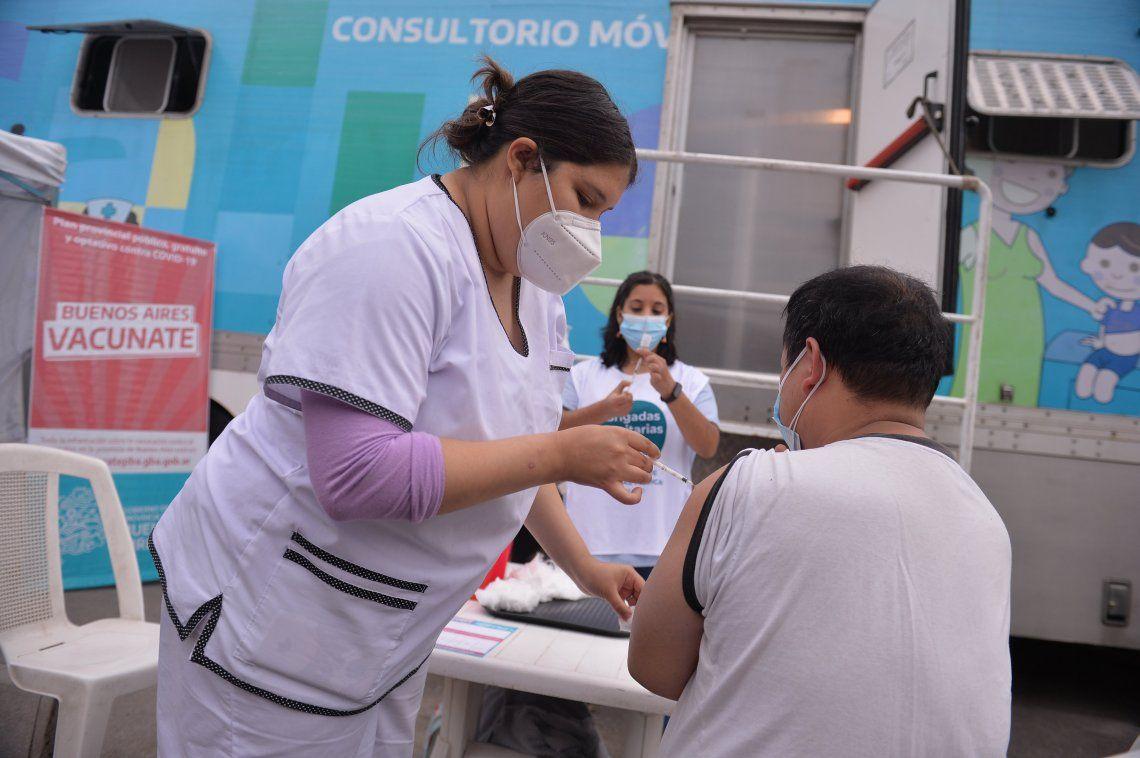 Nuevo récord de vacunados en un día en Buenos Aires