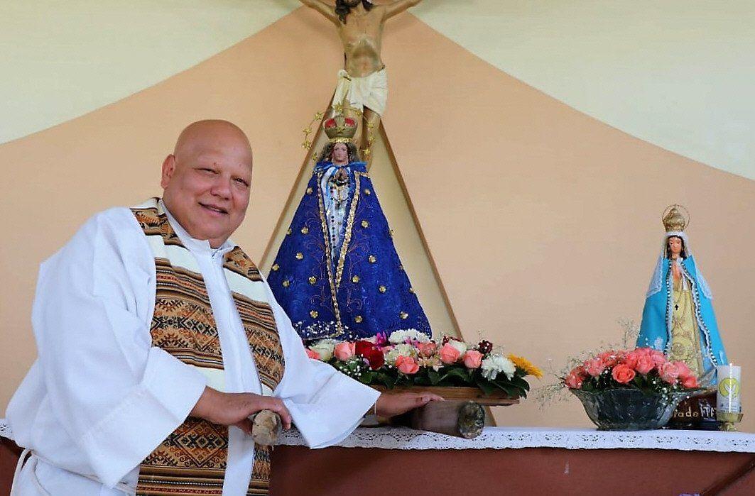 El padre Bachi se encontraba internado desde el 21 de junio.