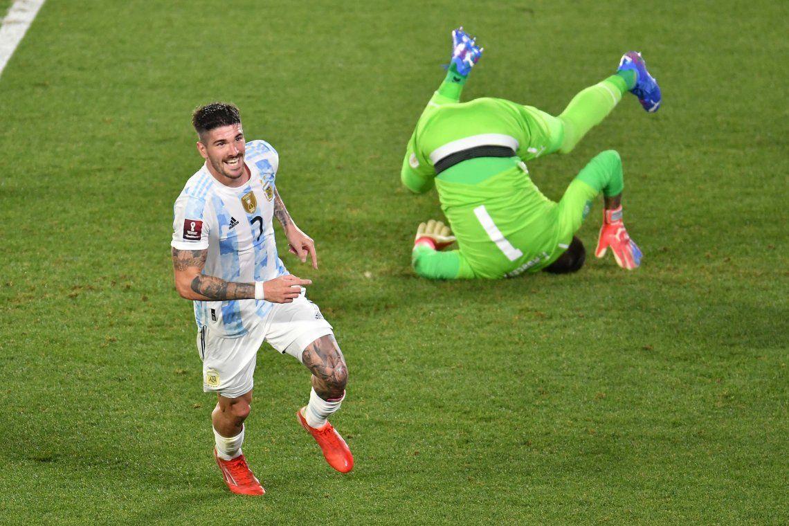 Las mejores fotos del triunfo de Argentina ante Uruguay