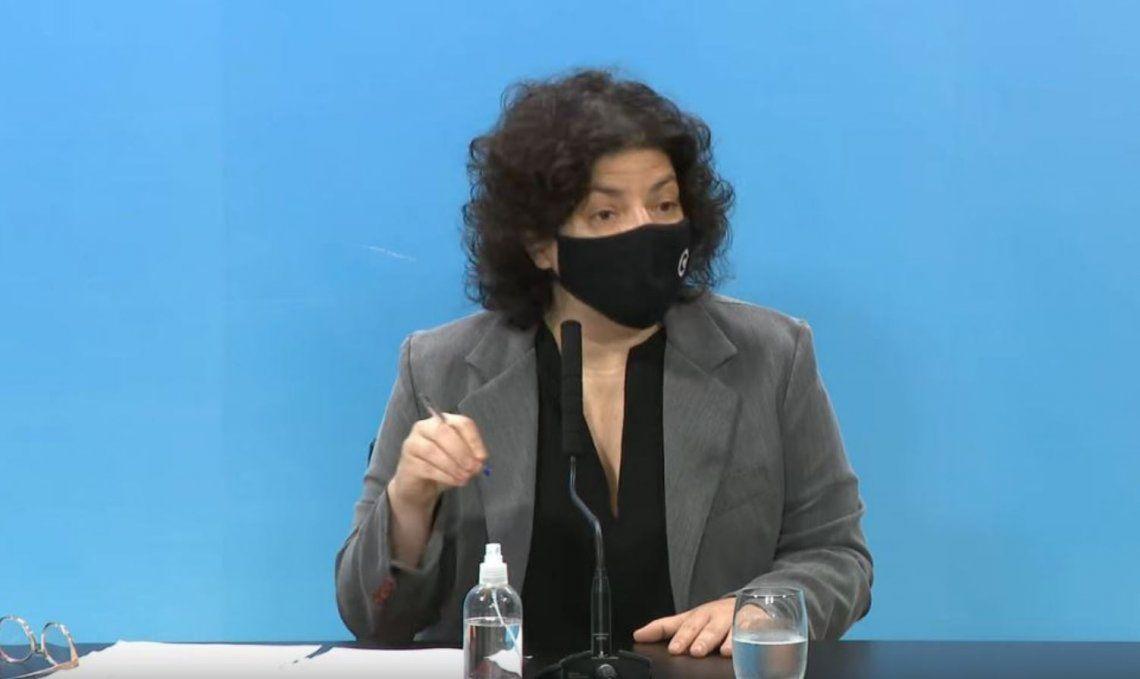 Carla Vizzotti: La segunda ola ya es un hecho