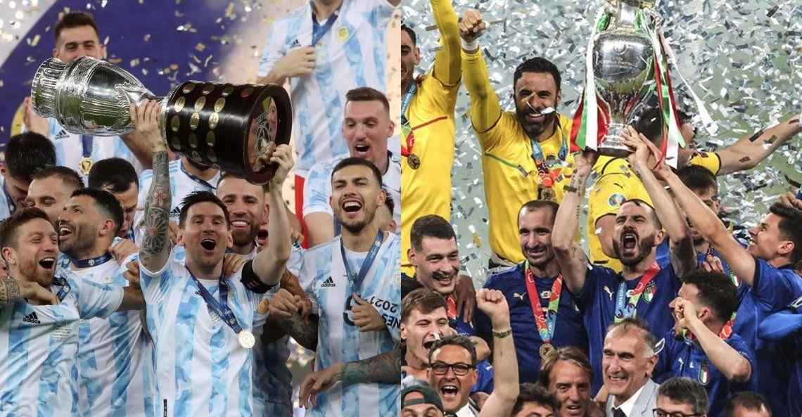 Confirmado: Argentina enfrentará a Italia en junio de 2022