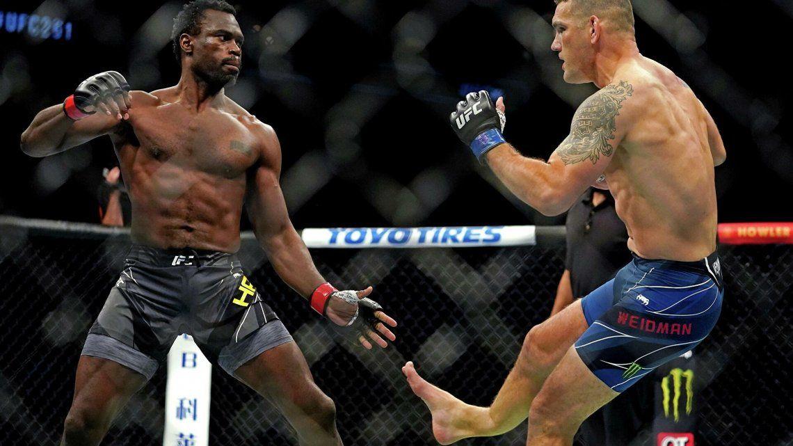UFC: dura lesión de un luchador.