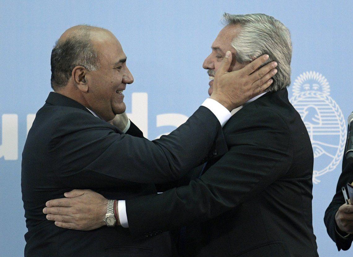 Juan Manzur /Jefe de Gabinete) y Alberto Fernández