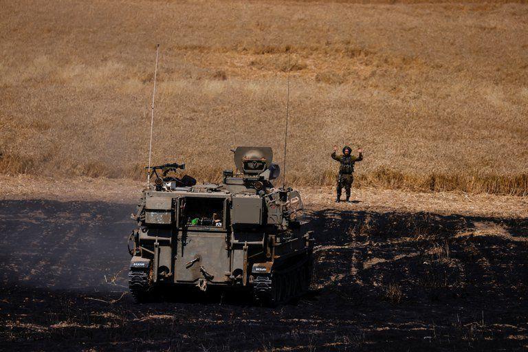 Israel atacó objetivos de Hamas.