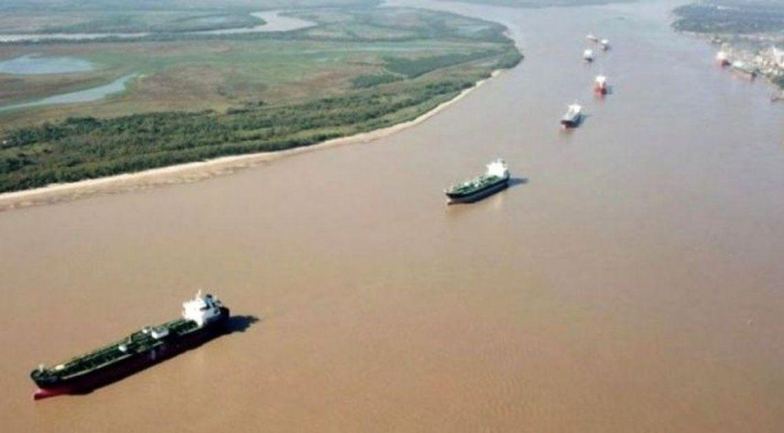 Paraná: sigue la bajante.