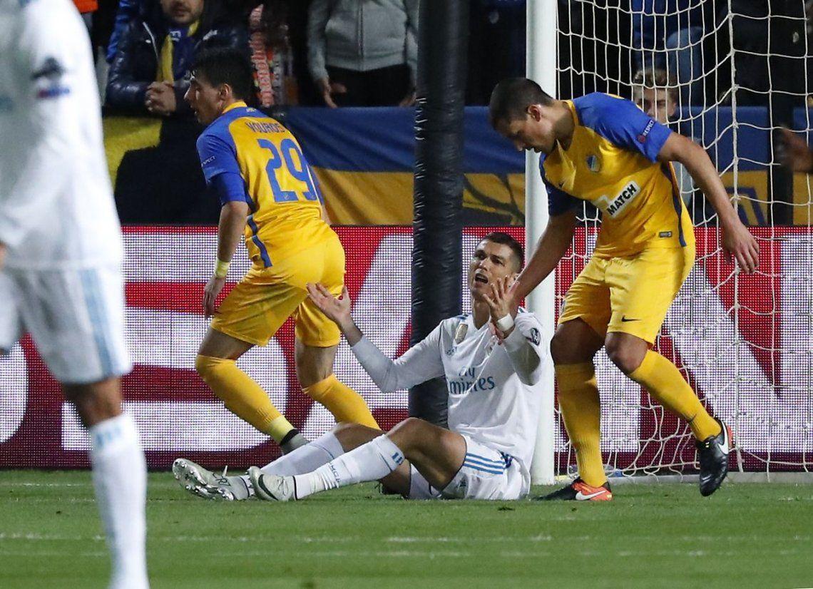 El Real Madrid goleó al débil APOEL y clasificó a octavos de final