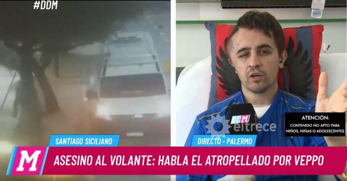 Habló Santiago Siciliano, el inspector atropellado por Veppo: Es un cobarde