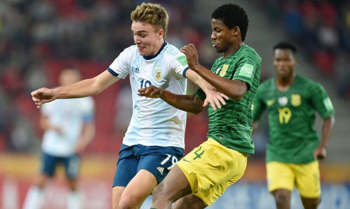 El VAR ayudó y el Sub 20 goleó a Sudáfrica en su debut en el Mundial