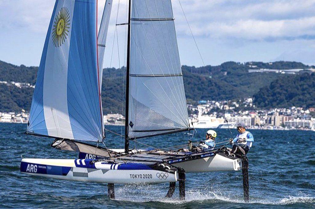 La dupla Lange-Carranza quiere repetir medalla como en Río 2016.