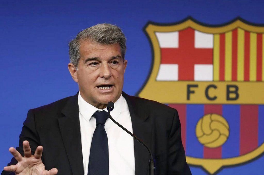 El presidente del Barcelona
