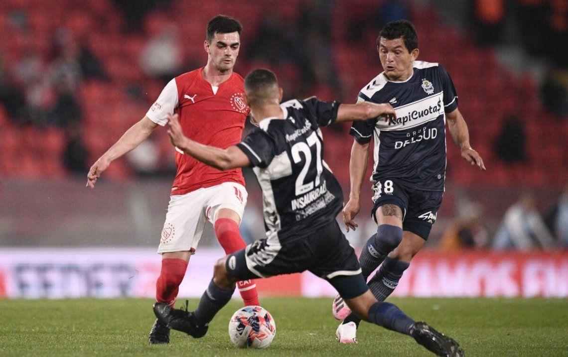 Independiente y Gimnasia repartieron puntos.