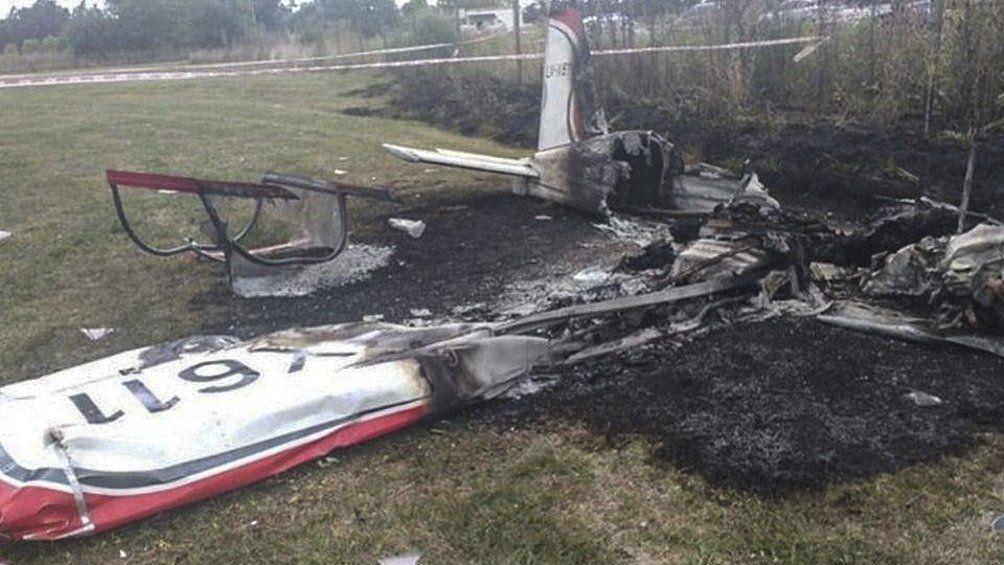 Dos personas murieron en un accidente aéreo en General Rodríguez