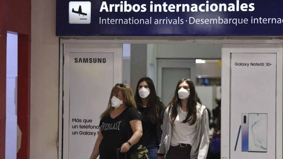Coranvirus: Nuevas normas de ingreso al país hasta el 31 de enero