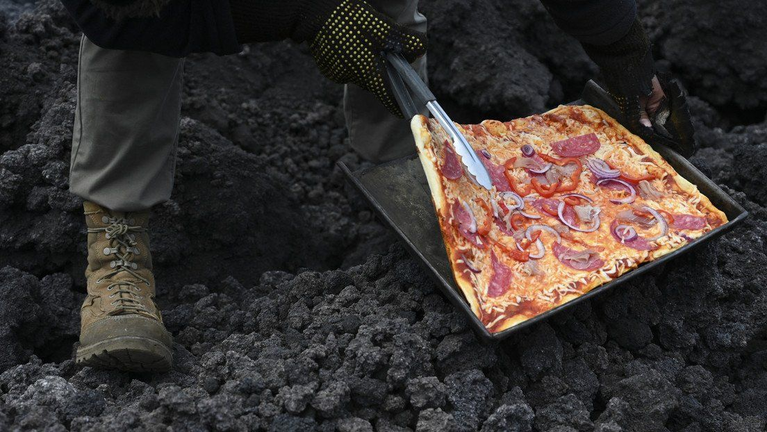 Guatemala: pizza muy especial.