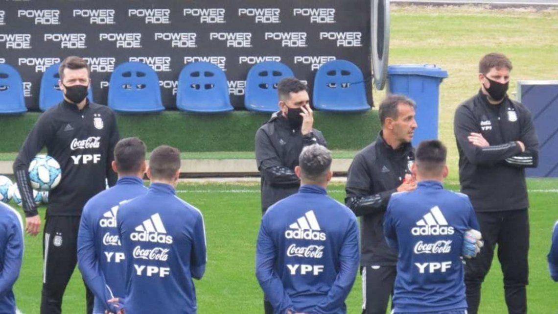 La Selección argentina Sub 23 se prepara para los amistosos.