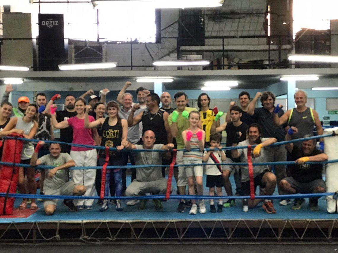 La Tigresa Acuña lideró una clínica de boxeo organizada por la FAB