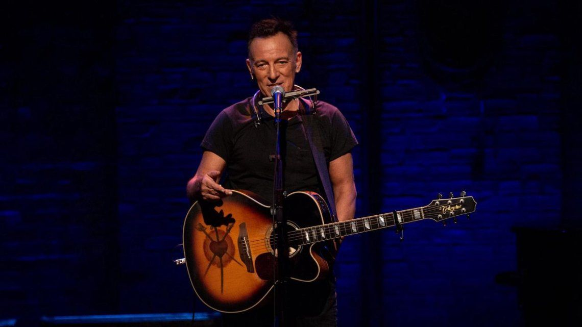 Bruce Springsteen reabrió Broadway con un espectáculo solo para público vacunado